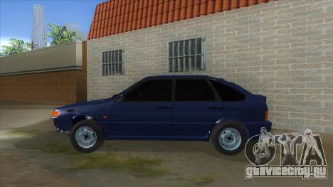 ВАЗ 2114 Немного БК для GTA San Andreas вид слева