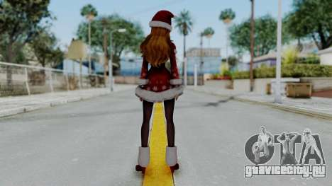 One Piece Pirate Warriors - Nami Christmas DLC для GTA San Andreas третий скриншот