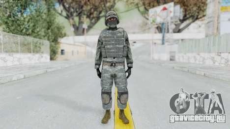 Acu Soldier Balaclava v4 для GTA San Andreas второй скриншот