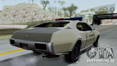 Police Clover для GTA San Andreas вид слева