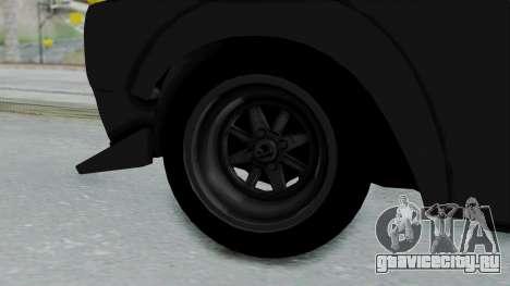 Nissan Skyline 2000GTR Speedhunters Edition для GTA San Andreas вид сзади слева