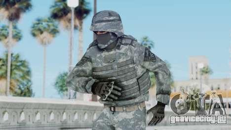 Acu Soldier Balaclava v2 для GTA San Andreas