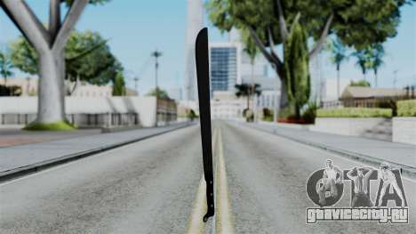 No More Room in Hell - Machete для GTA San Andreas второй скриншот