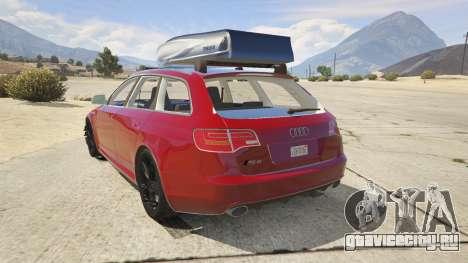 Audi RS6 Avant C6 2009 для GTA 5