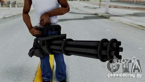 GTA 5 Minigun для GTA San Andreas