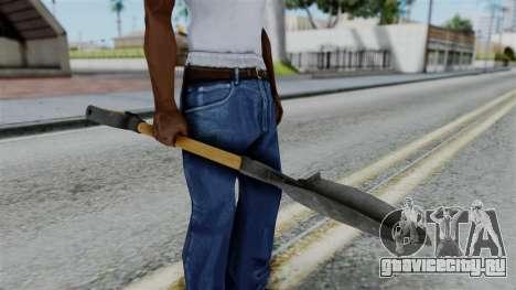 No More Room in Hell - Shovel для GTA San Andreas третий скриншот