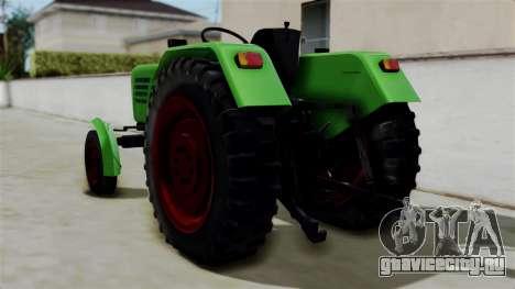 Torpedo Traktor для GTA San Andreas вид слева