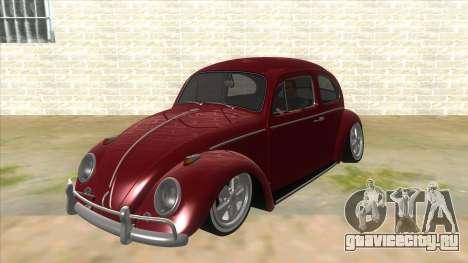 Volkswagen Beetle Aircooled V2 для GTA San Andreas