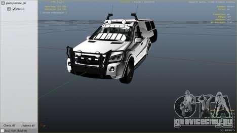 2009 Mercedes-Benz ML63 AMG FBI для GTA 5 вид справа