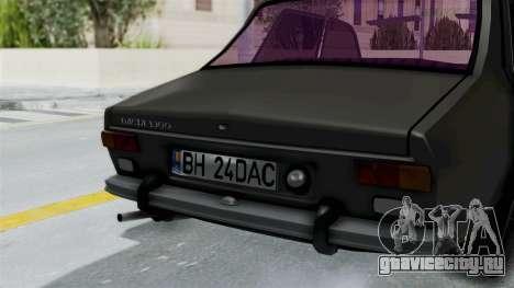 Dacia 1300 Edition[RC] для GTA San Andreas вид сзади