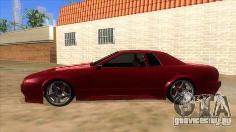 GTR Elegy для GTA San Andreas вид слева