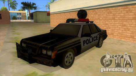 Police Car from Manhunt 2 для GTA San Andreas