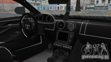 GTA 5 Truffade Adder v2 IVF для GTA San Andreas вид справа
