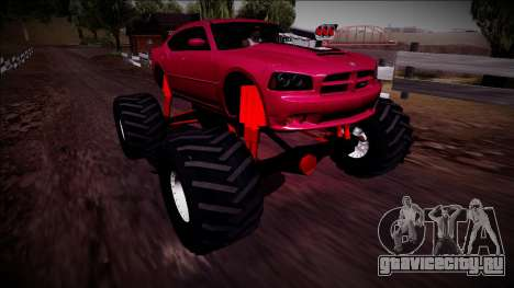 2006 Dodge Charger SRT8 Monster Truck для GTA San Andreas
