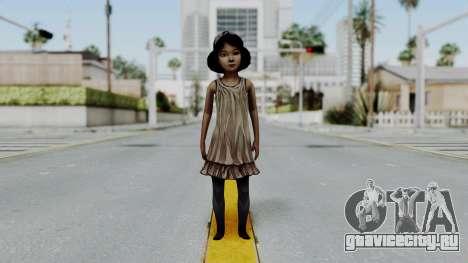 Clementine from The Walking Dead для GTA San Andreas второй скриншот