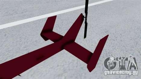GTA 5 Super Volito для GTA San Andreas вид сзади слева