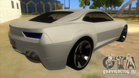Chevrolet Camaro DOSH tuning MQ для GTA San Andreas вид справа