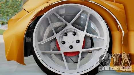Toyota Vellfire S Class для GTA San Andreas вид сзади