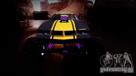 GTA 5 Imponte Phoenix Monster Truck для GTA San Andreas вид сверху