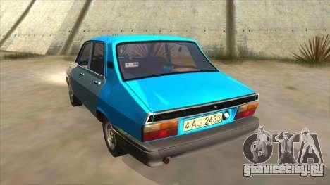 Dacia 1310 Rusty для GTA San Andreas вид сзади слева