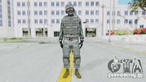 Acu Soldier Balaclava v3 для GTA San Andreas второй скриншот