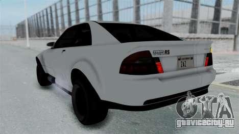 GTA 5 Karin Sultan RS Stock PJ для GTA San Andreas салон