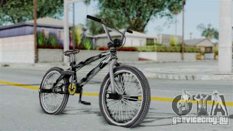 GTA 5 BMX Camo для GTA San Andreas вид слева