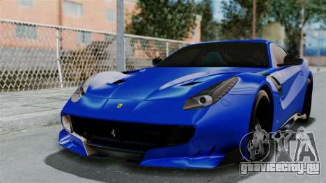 Ferrari F12 TDF 2016 для GTA San Andreas