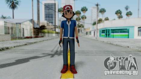 Pokémon XY Series - Ash для GTA San Andreas второй скриншот