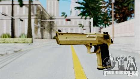 Pouxs Desert Eagle v2 Gold для GTA San Andreas второй скриншот