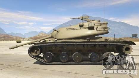 M103 для GTA 5 вид слева