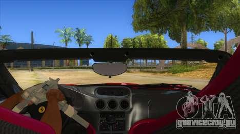 Ferrari 550 Barchetta Pinifarina US Specs 2001 для GTA San Andreas вид изнутри