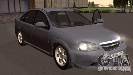 Chevrolet Lacetti Sedan для GTA San Andreas