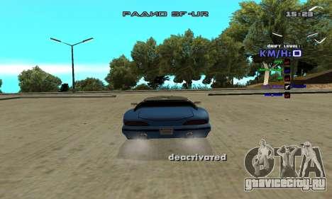 Drift Camera для GTA San Andreas второй скриншот
