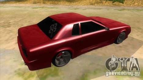 GTR Elegy для GTA San Andreas вид справа