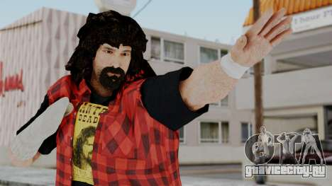 WWE Mick Foley для GTA San Andreas