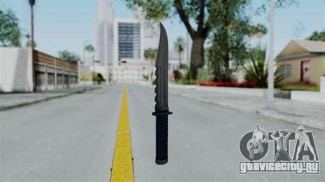 GTA 5 Knife для GTA San Andreas второй скриншот