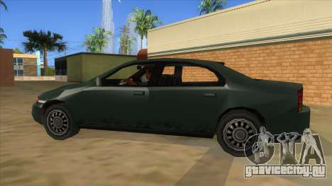 GTA LCS KURUMA для GTA San Andreas вид слева