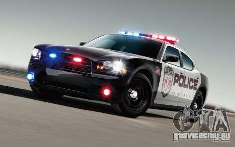 Крутые полицейские мигалки для GTA San Andreas
