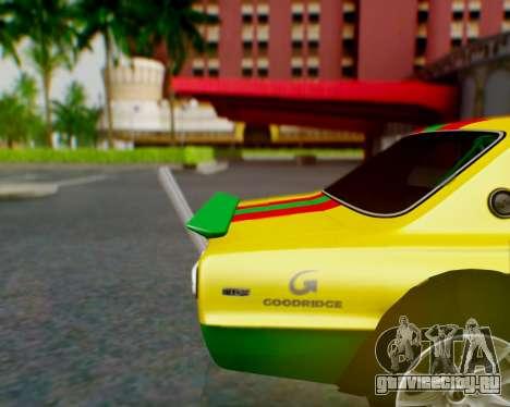 Nissan 2000GT-R [C10] Tunable для GTA San Andreas двигатель