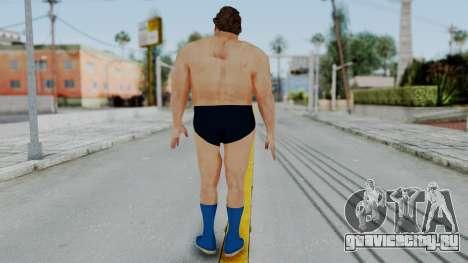 Andre Giga для GTA San Andreas третий скриншот