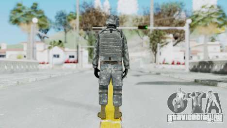 Acu Soldier Balaclava v2 для GTA San Andreas третий скриншот