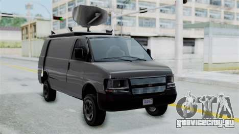 Vapid Speedo Newsvan для GTA San Andreas