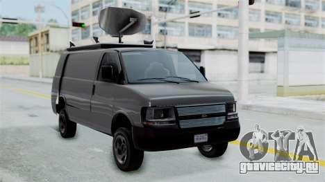 Vapid Speedo Newsvan для GTA San Andreas