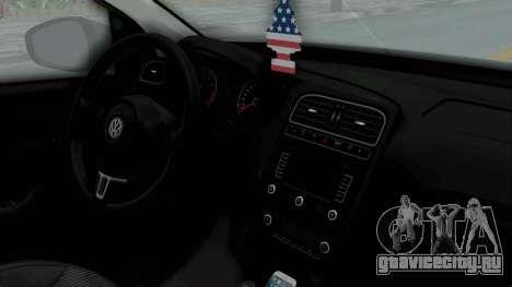 Volkswagen Polo 6R 1.4 HQLM для GTA San Andreas вид справа