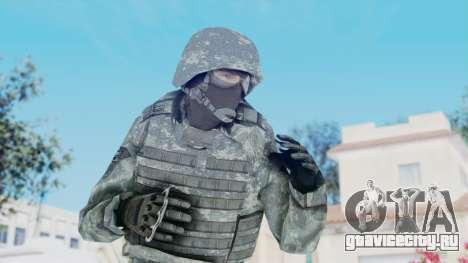Acu Soldier Balaclava v3 для GTA San Andreas
