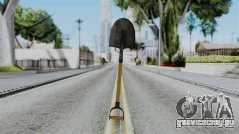 No More Room in Hell - Shovel для GTA San Andreas