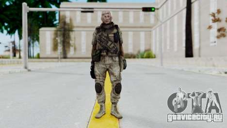 Crysis 2 US Soldier FaceB Bodygroup B для GTA San Andreas второй скриншот