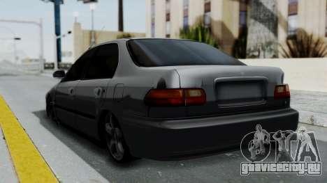 Honda Civic 1992 Sedan для GTA San Andreas вид слева