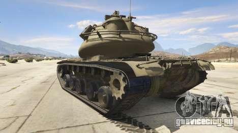 M103 для GTA 5 вид сзади слева